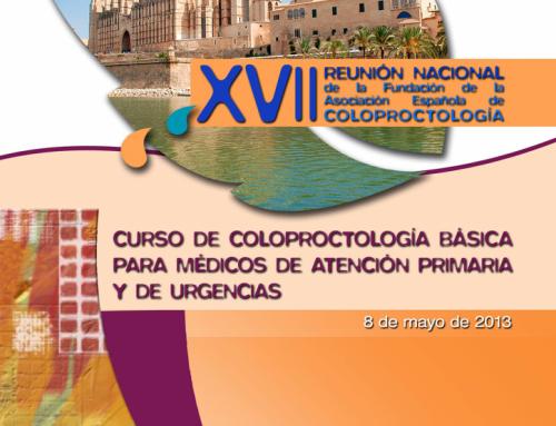 1er Curso de Coloproctología Atención Primaria